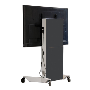 Planar Mobile Electric Lift Display Stand