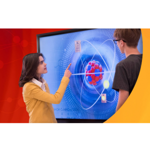 "Promethean AP6-75A-4K ActivPanel 75"" Interactive Flat Panel Display with  Android Module"