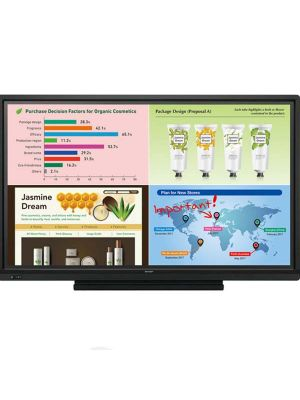 Sharp Aquos Board PN-L703W Interactive Touch Screen Display