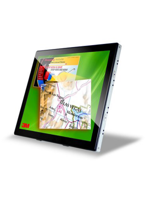 3M Interactive Dual-Touchscreen Display C1510PS