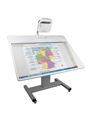 Conen Work IT Desk Mobile Cart (Projection Surface)