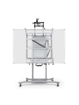 Balt Elevation Interactive Whiteboard Mobile Cart with Ultra Short Throw Arm