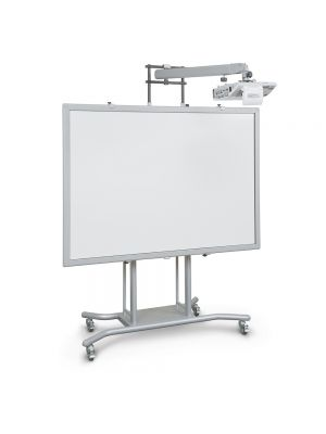 Balt iTeach 2 – Mobile Electric Interactive Whiteboard Stand with Ultra Short Throw Arm