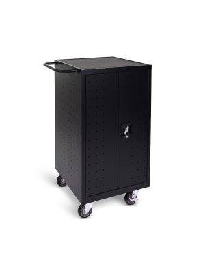Luxor LLTP18-B 18 Laptop and Chromebook compact Charging Cart